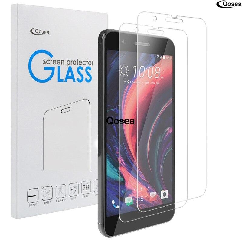 Qosea Écran En Verre Trempé Pour HTC Un X10 Protecteur Ultra-mince Effacer 2.5D 9 H Explosion-preuve De Protection Film Pour HTC Un X10