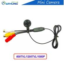 New Super small color video camera 960P/600/800TVL 3.7mm lens with audio Line IR night vision HD Mini home Security CCTV Camera