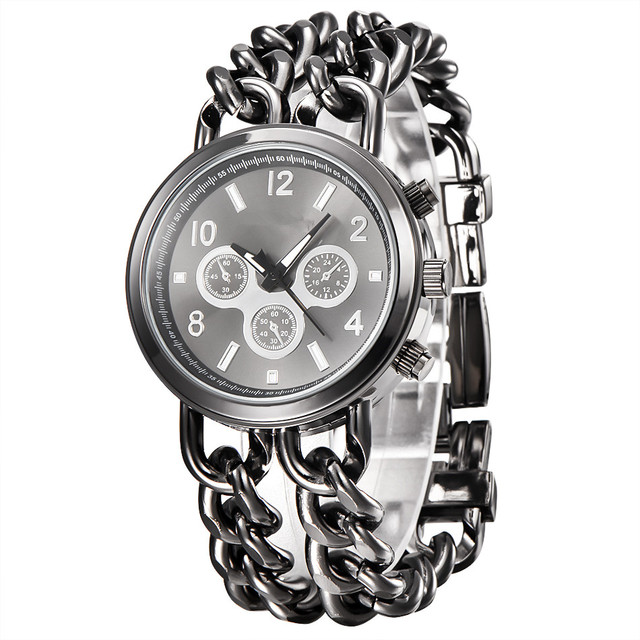 1pc / lot Cheap Watches Women Fashion Bracelet Steel Watch Men Full Steel Quartz Couple Watches Lovers Pulseras de acero Relogio