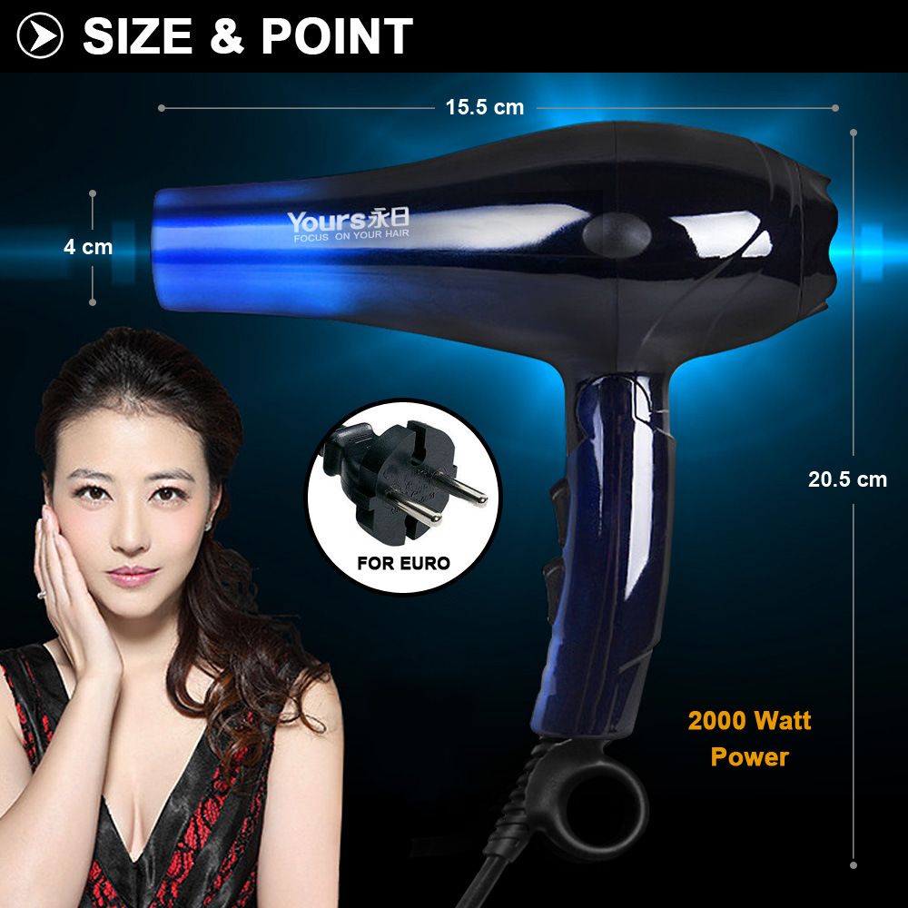 ALDXH2-YR8802,Explosions mute hair dryer home constant temperature hair dryer hot and cold air blower hair dryer hair dryer ldxh6 6615 hair salon special hair dryer cold hot air quiet and blower household high power constant temperature hair dryer