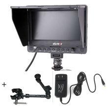 Viltrox dc-70ex 7 «hd жк-монитор 1024×600 ips экран клип на hdmi/sdi/а. в. ввода-вывода видео-дисплей камеры для dslr камеры