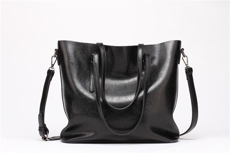 Women Tuff Leather Tote Handbag 3
