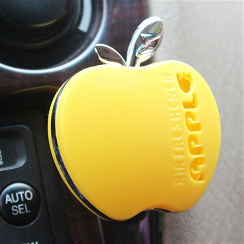 Air Freshener: 2016 Fashion parfum car-styling Flavor In The Car Perfume 100 Original Apple Shape Car Air Freshener For VW Ford Kia Renault
