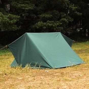 3F UL GEAR Ultralight Tarp Outdoor Camping Survival Sun Shelter Shade Awning Silver Coating Pergola Waterproof Beach Tent 6