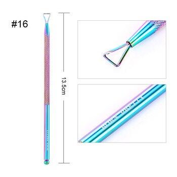 BORN PRETTY Nail Clipper Cutter Stainless Steel Rainbow Tweezer Clipper Dead Skin Remover Edge Cutter Scissor Plier 29