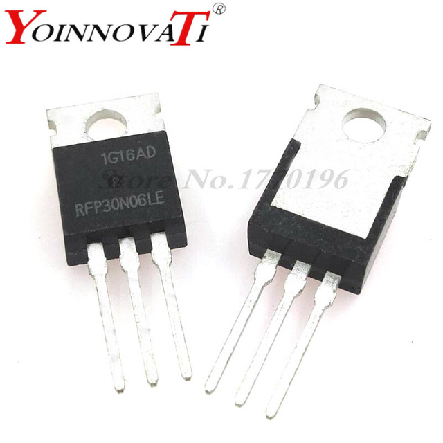 Free shipping 10pcs/lot RFP30N06LE P30N06LE P30N06 MOSFET N-CH 60V 30A TO-220 Best quality