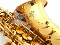 Hot Selling FREE SHIPPING EMS 54 France Selmer Alto Saxophone E Musical Instrument Electrophoresis Gold Professional