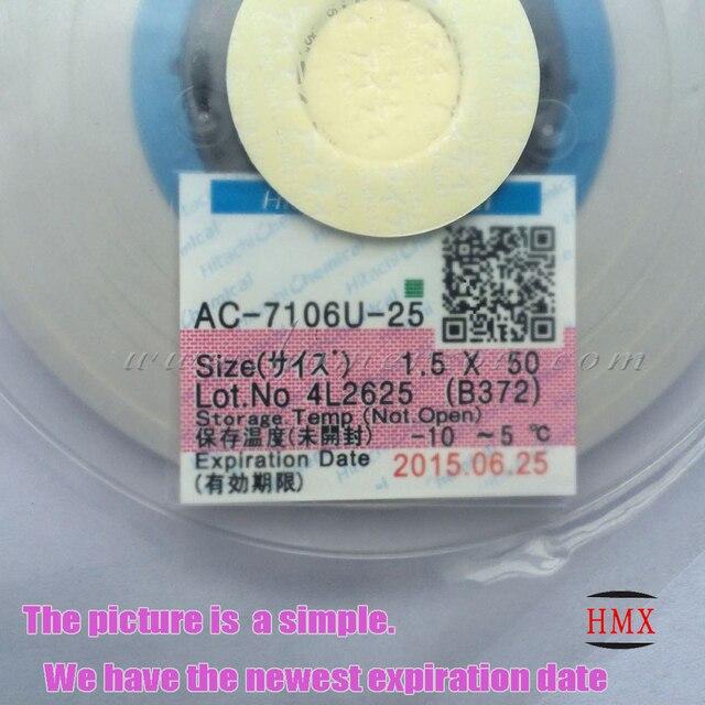 for hitachi ac 7106u 25 conductive strip acf anisotropic conduction rh aliexpress com