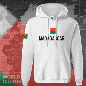 Image 5 - Madagascar con cappuccio da uomo felpa felpa sportivi hop streetwear tuta nazione calciatore MDG Malagasy Madagasikara Madagascar