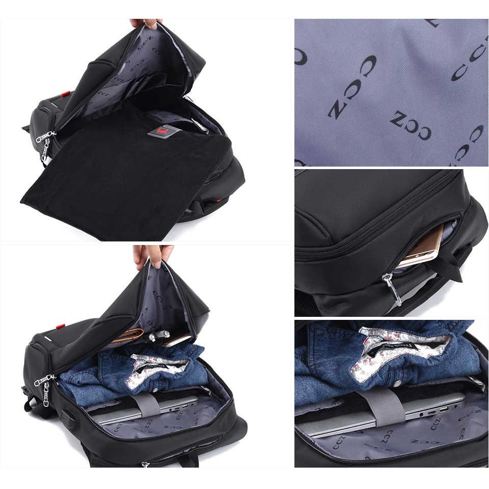Крест быка для мужчин 14 дюймов мужской рюкзак для ноутбука модный рюкзак нейлоновая сумка USB зарядка Рюкзак Водонепроницаемые рюкзаки Mochila BK8016