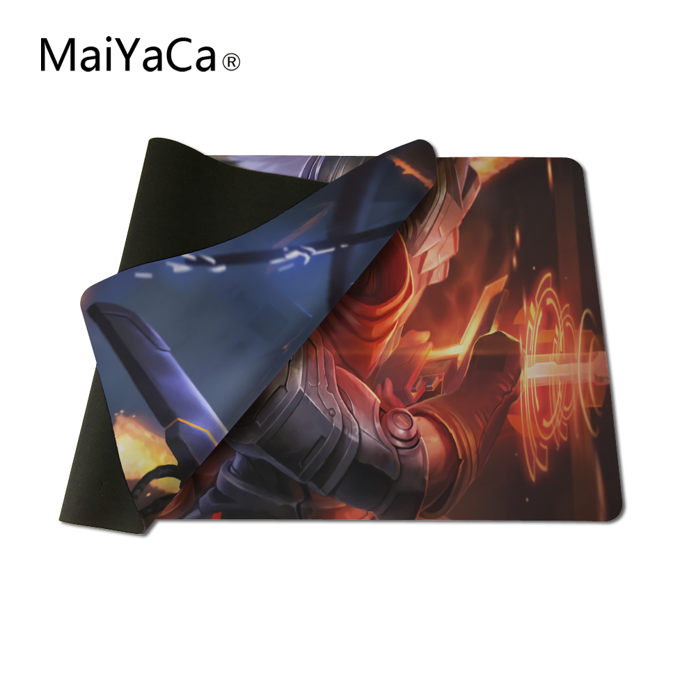 MaiYaCa LOL LOGO Mouse Pad pad to Mouse Notbook Computer Mousepad Overlock Edge Big Gaming Padmouse Gamer to Laptop Mouse
