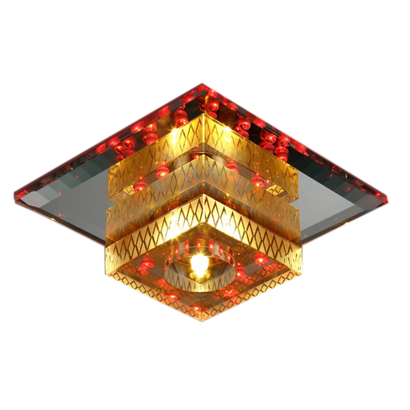 Art Decor Small LED Ceiling Lights for Kitchen Background Holiday Decorative Lighting Corridor K9 Crystal Ceiling LampArt Decor Small LED Ceiling Lights for Kitchen Background Holiday Decorative Lighting Corridor K9 Crystal Ceiling Lamp