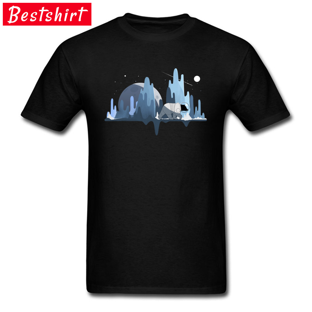 1634b0477 Newest T-Shirt 100% Cotton Fabric Slim Fit Fashion Crew Neck Tee Shirt  SpaceX