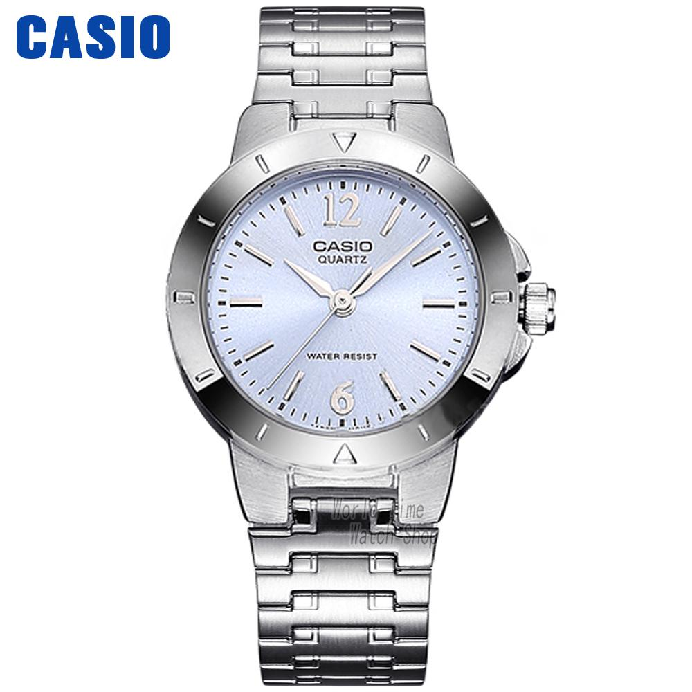 Casio watch classic steel ladies casual fashion watch LTP-1177A-2A LTP-1177A-4A1 casio watch fashion casual quartz needle steel watch ltp 1359rg 7a ltp 1359sg 7a