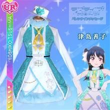 Lovelive Sunshine Aqours New Tsushima Yoshiko Dress Christmas Eve Sacred Snow Collaboration Awaken the power All Member
