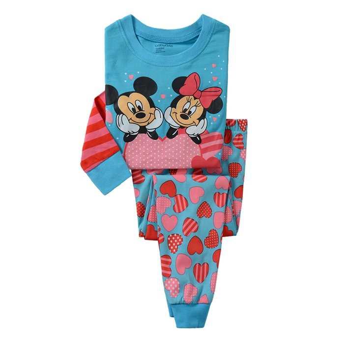 26fea4bf4 New Classic Kids Pajama Set Boys pattern Sleepwear Girls 100% cotton  Pajamas Set Children Cartoon