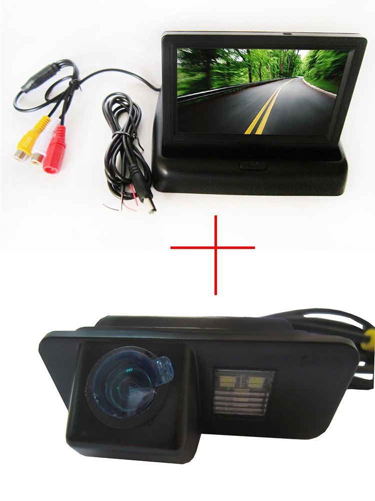 Color CCD Car Rear View font b Camera b font for FORD MONDEO FIESTA FOCUS HATCHBACK
