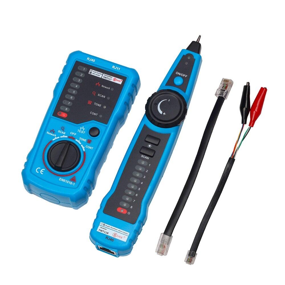 Alta calidad RJ11 RJ45 Cat5 Cat6 de alambre de teléfono Tracker rastreador Toner Ethernet de red LAN Cable Tester Detector de línea de