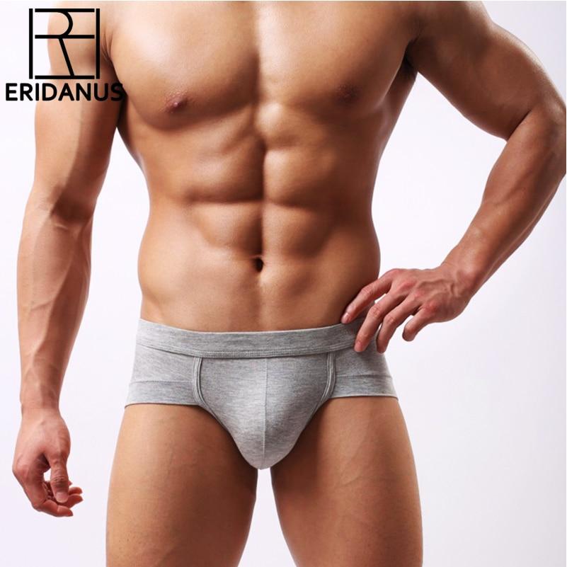 New Brand Men's Low Waist Briefs Sexy Modal U Convex Underwears Cotton Men Brief Underpants Shorts Cuecacalzoncillos Hombre M453