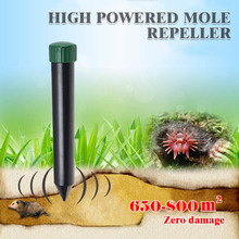Ultrasonido Pest repeller electronic repeller for mice and rats Moles Snake Mouse pest reject rodent Mole Rodent Animal Repeller