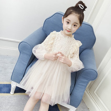 2019 Girls Princess Dress Spring Long Sleeve Toddler Clothes Hight Quality Kids Dresses For Girls 10 12 Years Baby Girl Clothes baby girl clothes pretty girls dress lovely floral print long sleeve flower kids dress princess dresses spring autumn 2 colors