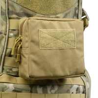 2019 New 1000D Outdoor Military Tactical Waist Bag Multifunctional EDC Molle Tool Zipper Waist Pack Accessory Durable Belt Pouch