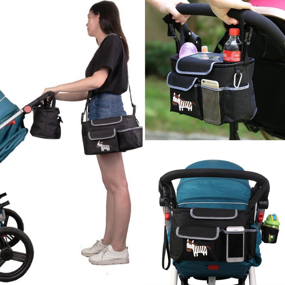 Stroller Baby Nappy Changing Bag Travel Shoulder Bag Diaper Buggy Pram Pushchair