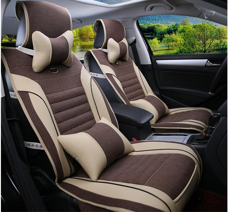 Mercedes leather seat cover promotion shop for promotional for Mercedes benz car seat cushion