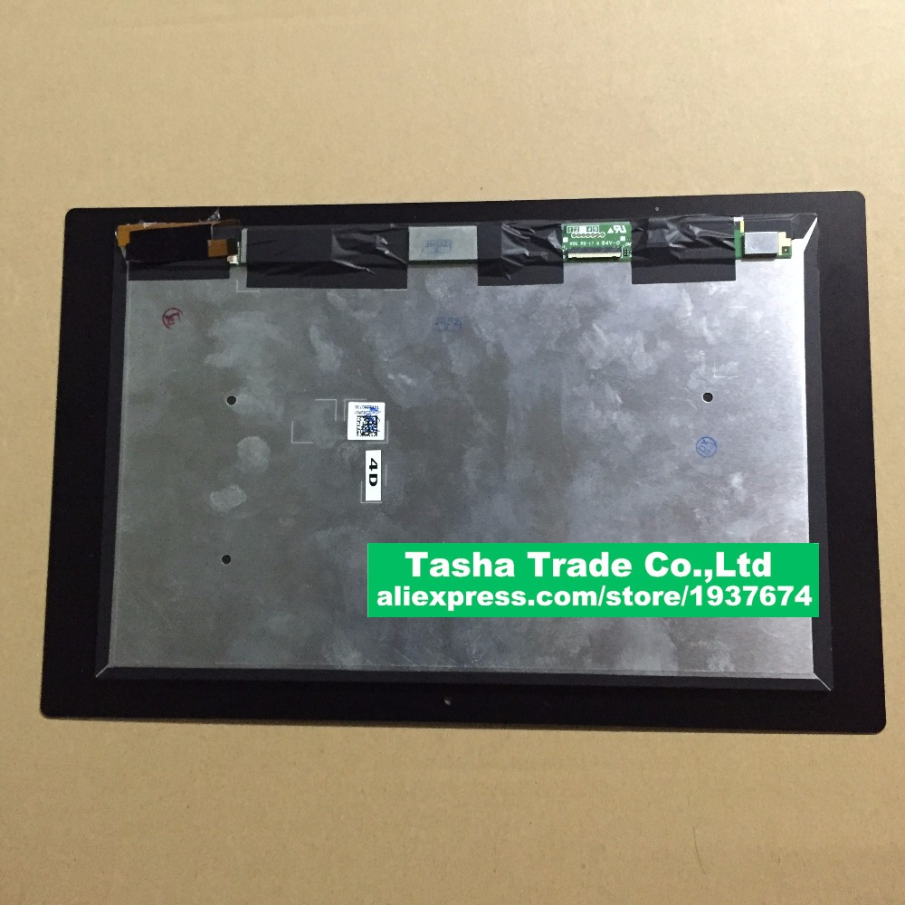 купить For Sony Tablet Z2 SGP511 SGP512 SGP521 SGP541 Touch Screen Panel Digitizer Glass LCD Display Assembly Replacement онлайн