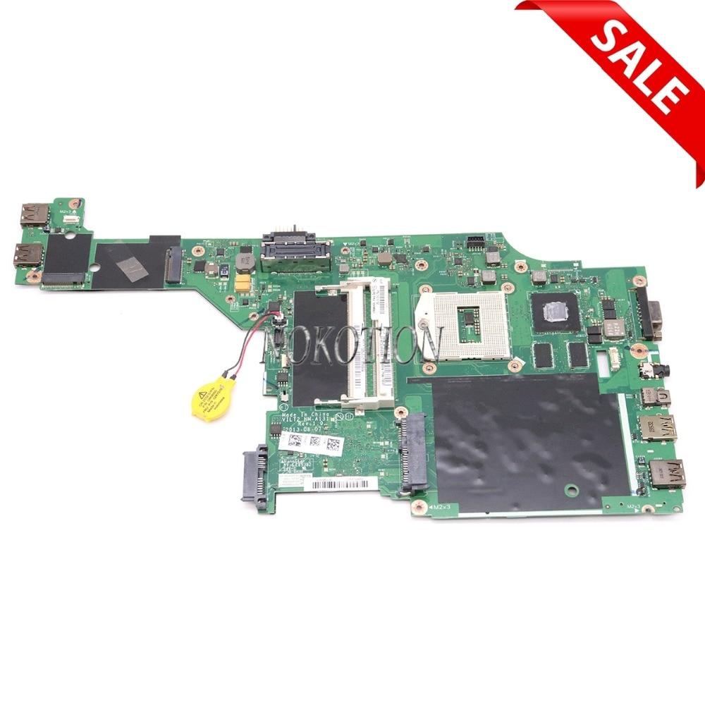NOKOTION VILT2 NM-A131 Rev 1.0 pour lenovo thinkpad T440P mère D'ordinateur Portable DDR3L FRU 00HM991 00HM981 Intel HM87 GT730M 04X4086