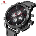 2016 Novo Design Da Marca Top Relógio dos homens LEVOU Digital de CHITA dupla Afixação Relógios Homens Esportes Relógio de Quartzo homem Relógio Reloj Hombre