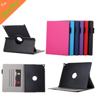 Cowboy Grain Stand PU Leather Case For Apple iPad Pro 12.9 inchTablet Cover Case With Card Slot +protectors