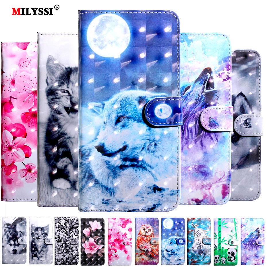 Flip Case for Xiaomi A1 A2 5X 6X Max 2 F1 Xiaomi Redmi 5A 5 6 6A 5 Plus 4X Note 4 5 4X 5A 6 Pro Book Style Wallet Phone Case(China)