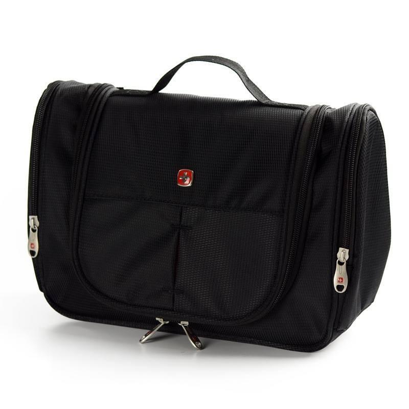 LHLYSGS Brand Men Travel Large Waterproof Makeup Bag Women Toiletry Beauty Cosmetic Bag Professional Organizer Toiletry Bag