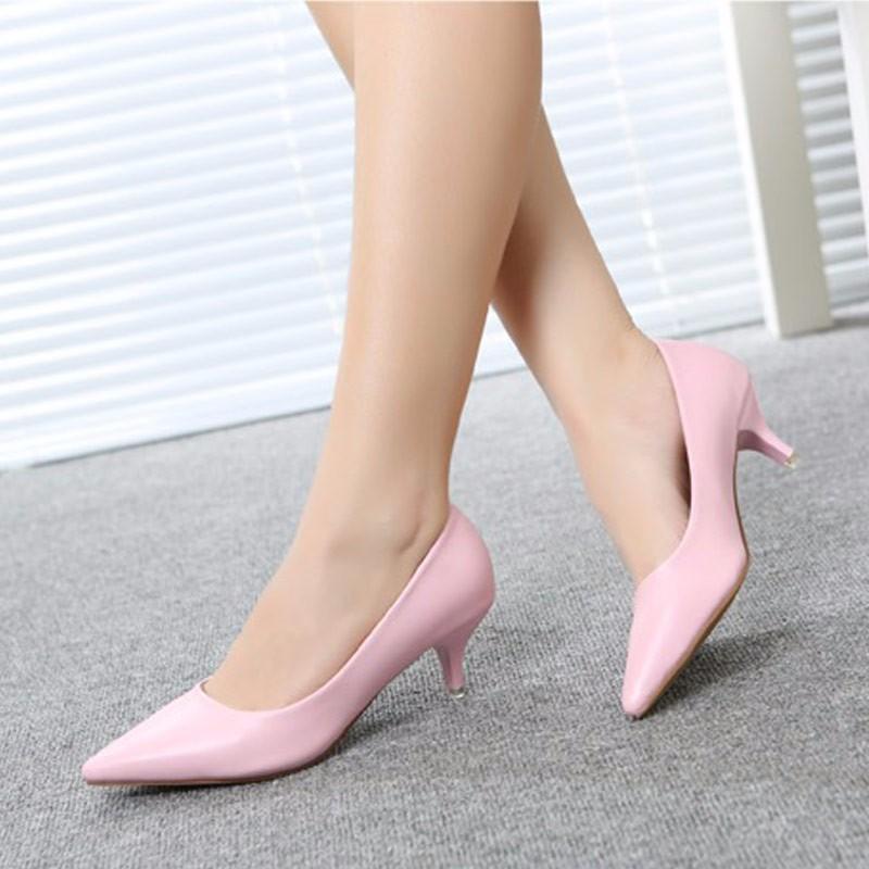 4af9a9788b WEIQIAONA 34 43 Mulher Sapatos de Couro Genuíno dentro Baixos Saltos ...