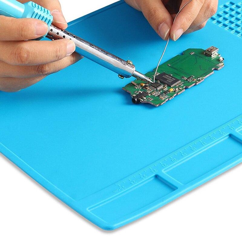 Tepelně odolná izolace Silikonová rohož Pájecí nástroj pro - Sady nástrojů - Fotografie 4