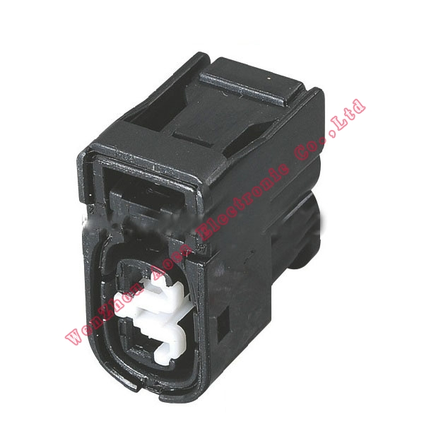 100SET male Connector Terminal plug connectors jacket auto Plug socket 2 way female Connector Fuse box