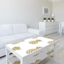 Funlife  Simple decoration of golden pineapple wallpaper  SWP026