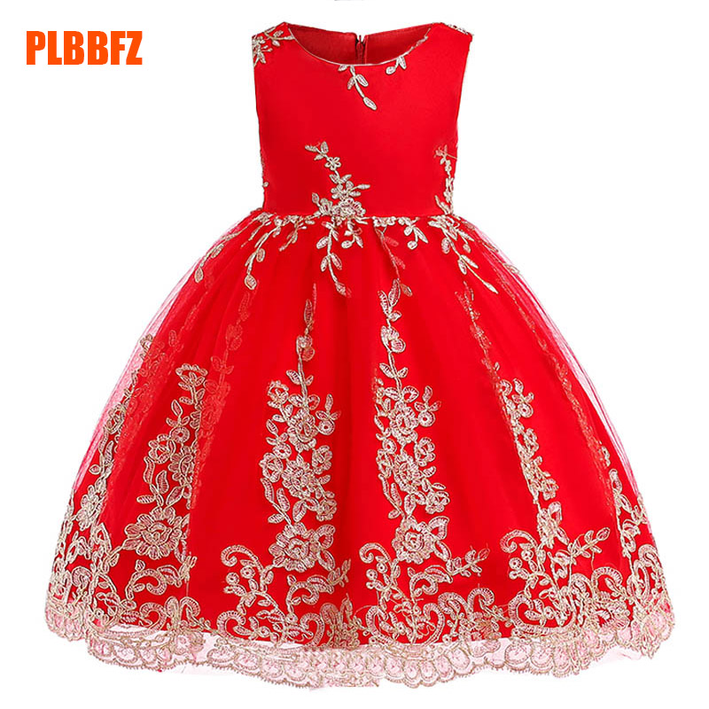 Flower     girl     dresses   children's party clothing   girl   ball gown clothes first communion princess   dress   baby tutu costume L9028