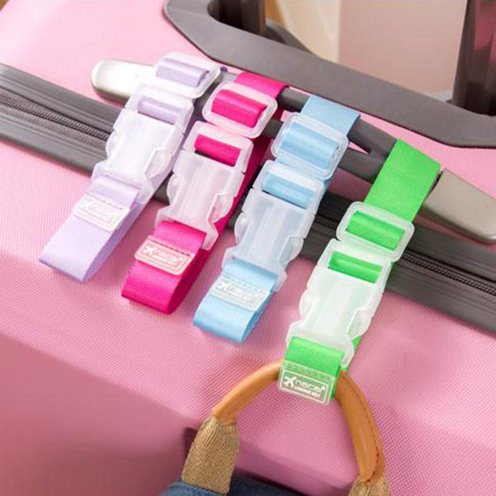Nova bagagem correias mala clipe proteger cinto fácil ajustável fivela cinta acessórios de viagem alta qualidade