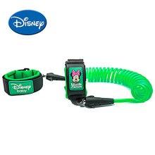 Disney Keselamatan Lock Bayi Anti Hilang Wrist Link Harness Tali tali Leash Berjalan Tangan Belt Band Wristband untuk Kanak-Kanak Kanak-kanak