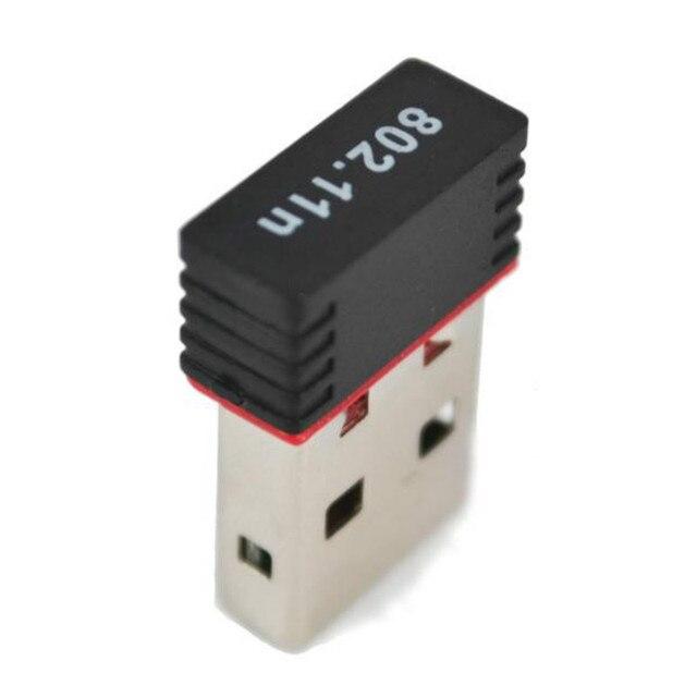 USB Ağ Kartı 802.11 b/g/n 2.4 GHz lan kartı 2.0 WiFi Kablosuz Ağ MT7601 150 Mbps Kablosuz adaptörü 150 M