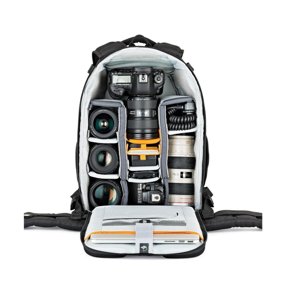 Image 2 - Fastshipping Brand NEW Lowepro Flipside 400 AW II Digital Camera DSLR/SLR Lens/Flash Backpack Bag+ RainCover-in Camera/Video Bags from Consumer Electronics