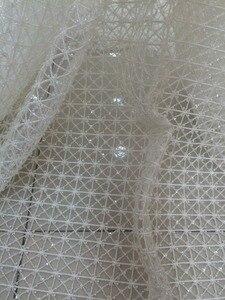 Image 2 - スーパー品質LJY 53103刺繍アフリカレース生地でフルビーズ用ブライダルドレス