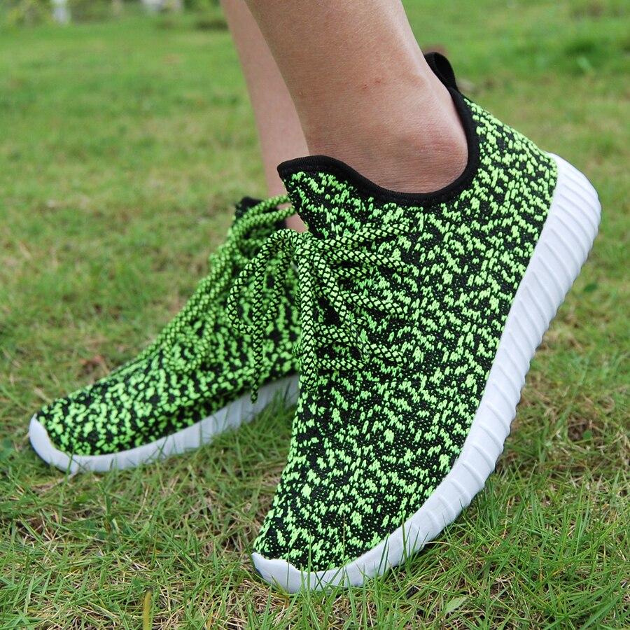Новинка 2017 года унисекс кроссовки Для мужчин Для женщин дышащие кроссовки удобные мягкие обуви на лето и весну Zapatos спортивной ...