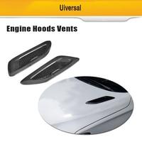 Universal Carbon Fiber Hood Bonnet Air Vents for BMW F80 F82 F83 E46 E90 For Audi A3 A4 A5 S3 S4 S5 Benz Accessories