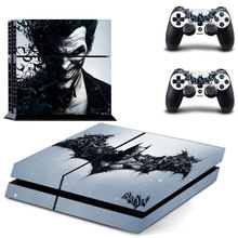 DC Joker Why So Serious PS4 Skin Sticker Decal Vinyl for Sony Playstation 4 Console and 2 Controllers PS4 Skin Sticker z33 light design protector skin decal sticker for ps3 playstation 3 body console