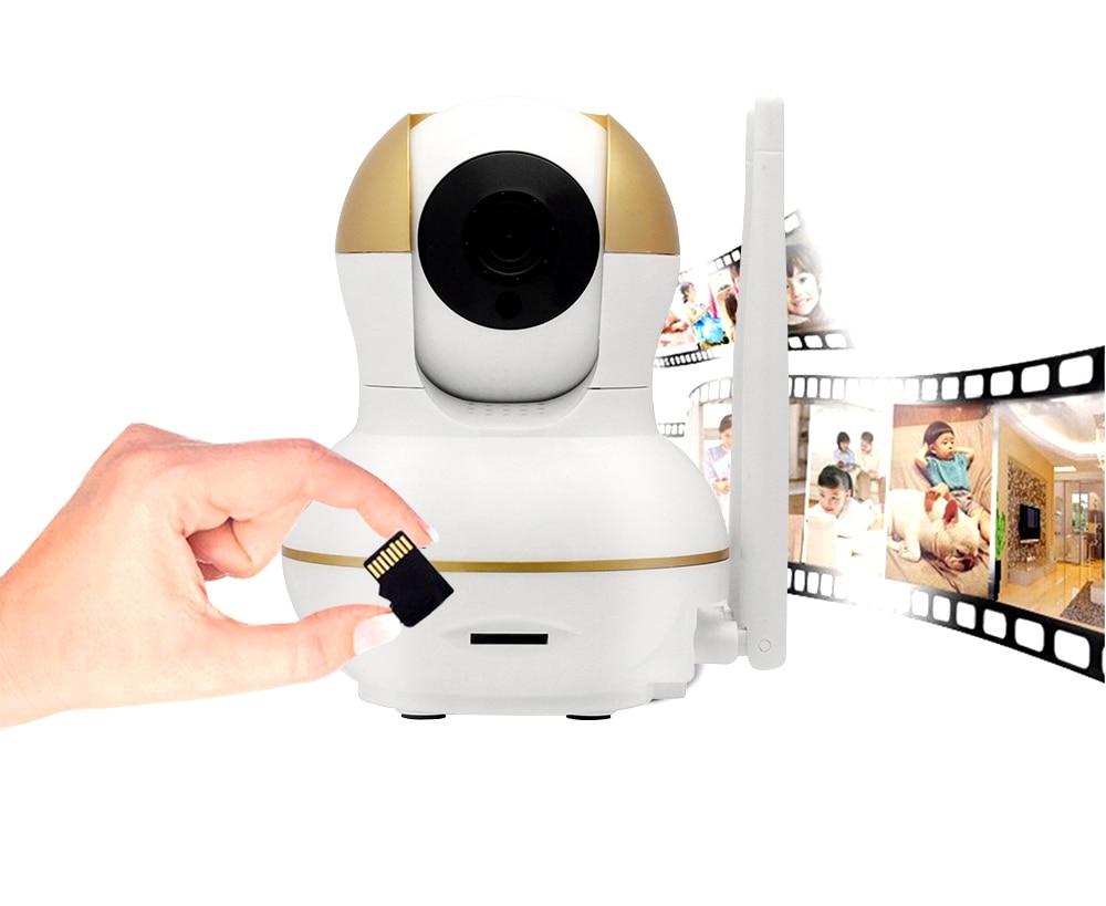 Wistino Alarm Systems Security WIFI IP Camera Security System Video Monitor Surveillance Camera Wireless Home Alarm System With Sensor Alarm Wifi kit Smart Home Camera (11)