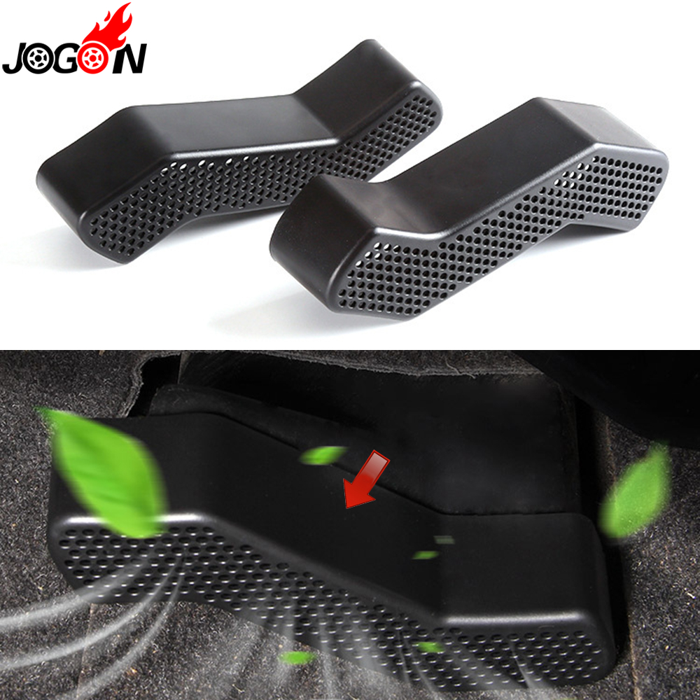 For Mitsubishi Lancer EVO 2008 - 2015 Car Styling Seat Air Condition AC Vent Outlet Anti Dust Protector Cover Trim