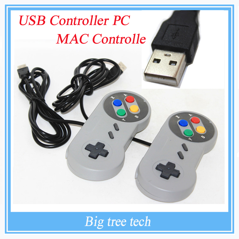 2PCS USB Controller for PC for MAC Retro Super for Nintendo SNES game Controllers SEALED New High quality new high quality useful mayflash controller adapter for snes for sfc to for windows xp 8 pc usb port